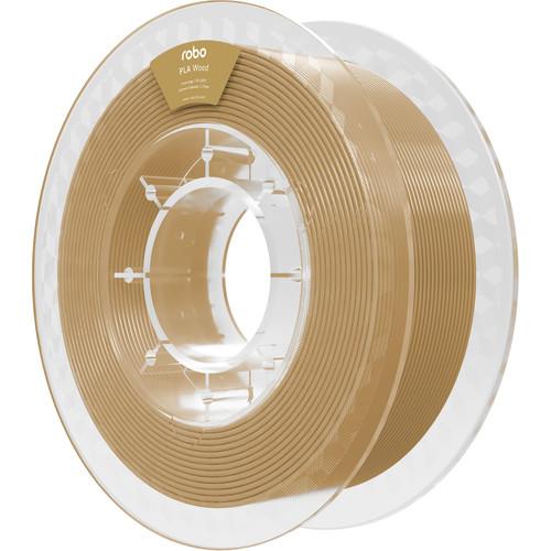 ROBO 3D PLA 1.75mm Filament/500G (Wood)