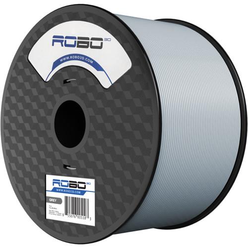 ROBO 3D 1.75mm PLA Filament (1kg, Cool Mid-Gray)