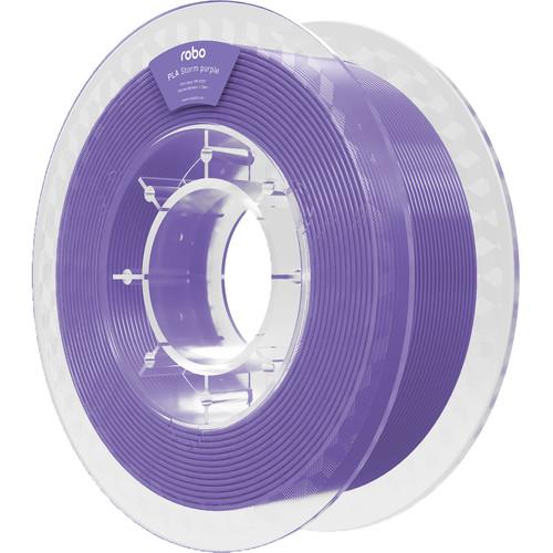 ROBO 3D 1.75mm PLA Filament (500g, Storm Purple)