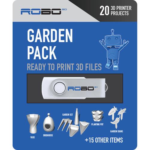 ROBO 3D Certified Print Pack (Garden)