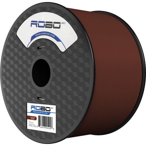 ROBO 3D 1.75mm PLA Filament (1kg, Chocolate Brown)