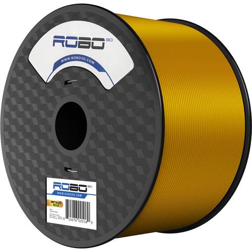 ROBO 3D 1.75mm PLA Filament (1kg, Gold Metallic)