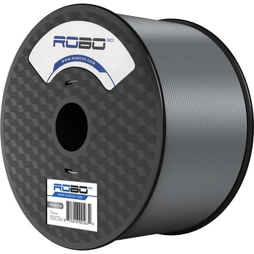 ROBO 3D 1.75mm PLA Filament (1kg, Metallic Silver)