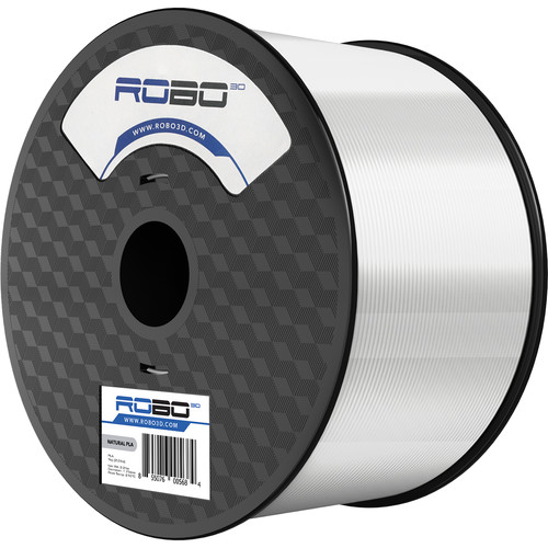 ROBO 3D 1.75mm PLA Filament (1kg, Natural)