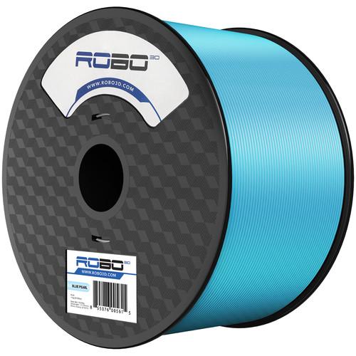 ROBO 3D 1.75mm PLA Filament (1kg, Pearl Blue)