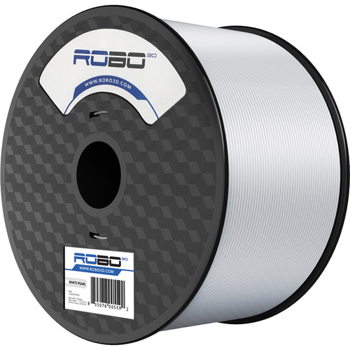 ROBO 3D 1.75mm PLA Filament (1kg, Pearl White)
