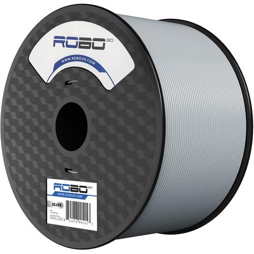 ROBO 3D 1.75mm PLA Filament (1kg, Silver)
