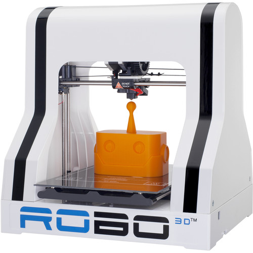 ROBO 3D R1 +Plus 3D Printer and Matter and Form 3D Scanner Kit