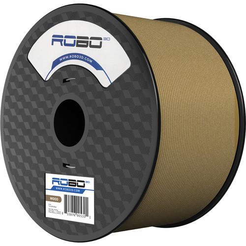 ROBO 3D 1.75mm Specialty Filament (1kg, Wood)