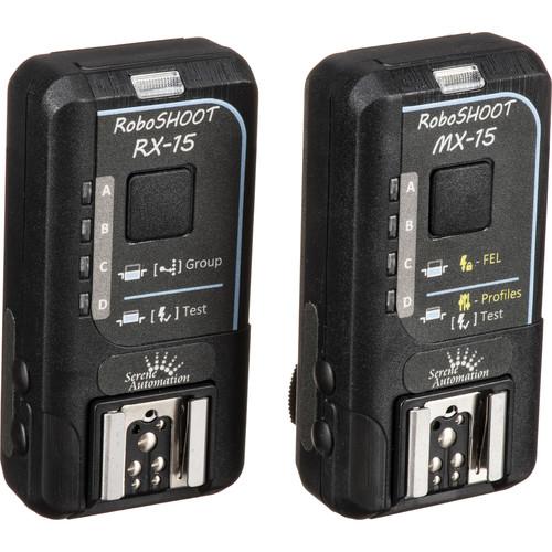 RoboSHOOT MX-15 / RX-15 Flash Trigger Kit