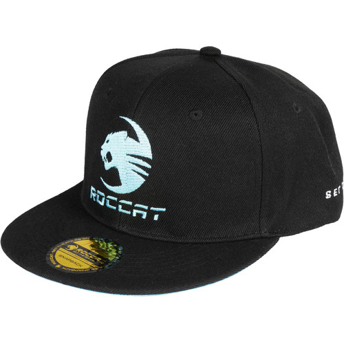 ROCCAT Snapback Hat (Black/Blue/Gold)