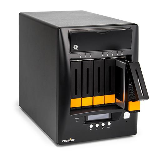 Rocstor Enteroc N56 Desktop NAS Server with Dual Gigabit Ethernet (40TB HDD)