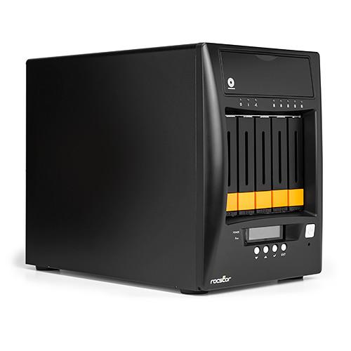 Rocstor Enteroc N56 Desktop NAS Server with Dual Gigabit Ethernet (10TB SSD)
