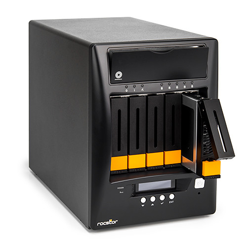 Rocstor Enteroc N56 Desktop NAS Server with Dual Gigabit Ethernet (20TB SSD)
