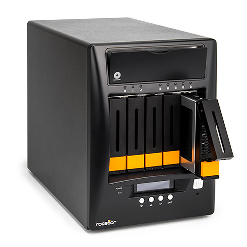 Rocstor Enteroc N56 Desktop NAS Enclosure with Dual Gigabit Ethernet