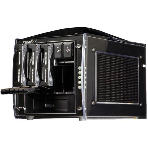 Rocstor Rocsecure DE51 10TB 5-Bay eSATA RAID Array (5 x 2TB)