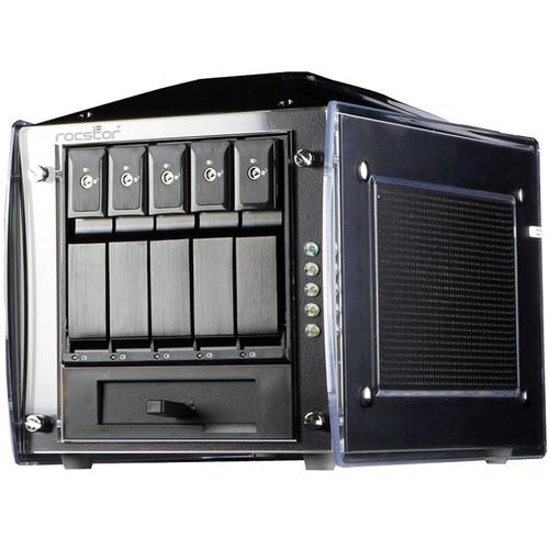 Rocstor Rocsecure DE51 15TB 5-Bay eSATA RAID Array (5 x 3TB)