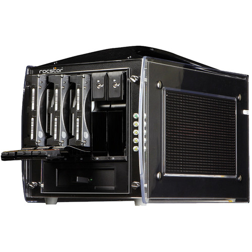 Rocstor Rocsecure DE51 5TB 5-Bay eSATA RAID Array (5 x 1TB)