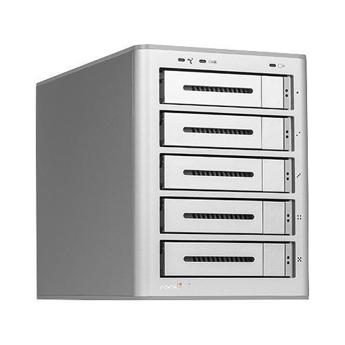 Rocstor Rocsecure DE52 60TB 5-Bay USB 3.0 RAID Array (5 x 12TB)