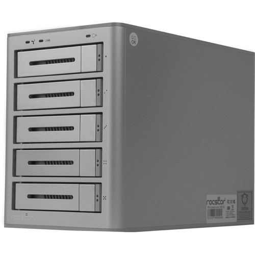 Rocstor Rocsecure DE52 40TB 5-Bay USB 3.0 RAID Array (5 x 8TB)