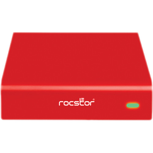 Rocstor 4TB Rocpro 900e USB 3.0 External Hard Drive (Red)