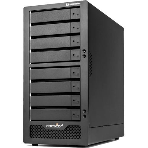 Rocstor Rocpro T38 8-Bay Thunderbolt 3 Desktop RAID Enclosure