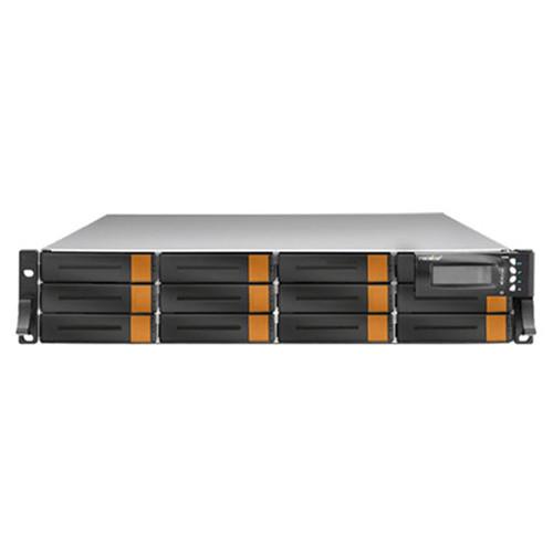 Rocstor Enteroc JS120D 12-Bay NAS Server with 96TB JBOD & Dual Controller (2 RU, 7200 rpm)