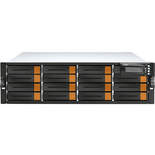 Rocstor Enteroc JS160S 16-Bay NAS Server with 64TB JBOD & Single Controller (3 RU, 7200 rpm)