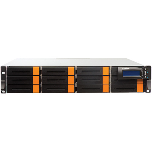 Rocstor 72TB Enteroc F1620 12-Bay Dual Controller 16Gb Fibre SAN Storage System