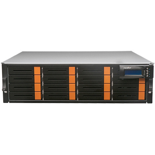 Rocstor Enteroc N1850 16-Bay NAS Server with 128TB Xeon Six Core (3 RU, 7200 rpm)