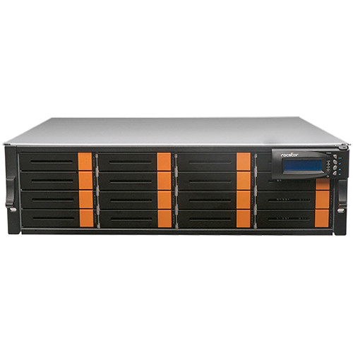 Rocstor Enteroc N1850 16-Bay NAS Server with 32TB Xeon Six Core (3 RU, 7200 rpm)