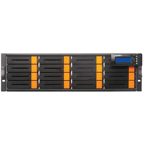 Rocstor Enteroc iS1030 64TB 16-Bay Dual-Controller iSCSI/SAS RAID Array