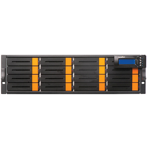 Rocstor Enteroc iS1030 16-Bay Dual Controller iSCSI Redundant RAID Storage Enclosure