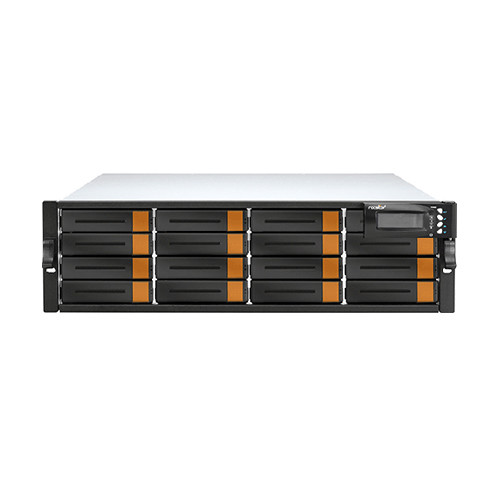Rocstor Enteroc iS1030 128TB 16-Bay Single-Controller iSCSI/SAS RAID Array