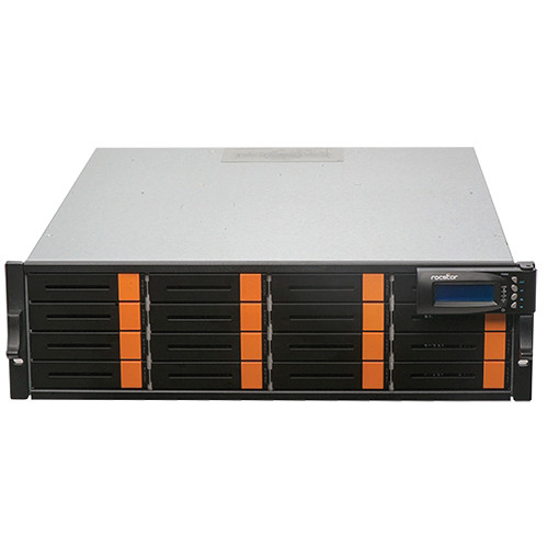 Rocstor Enteroc iS1030 64TB 16-Bay Single-Controller iSCSI/SAS RAID Array