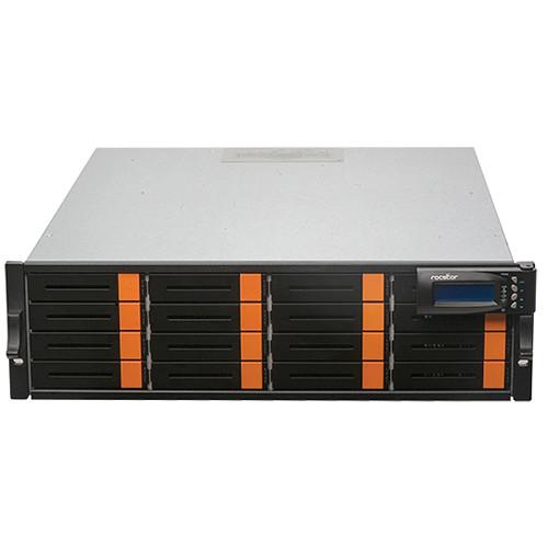 Rocstor Enteroc iS1030 16-Bay Single Controller iSCSI Redundant RAID Storage Enclosure