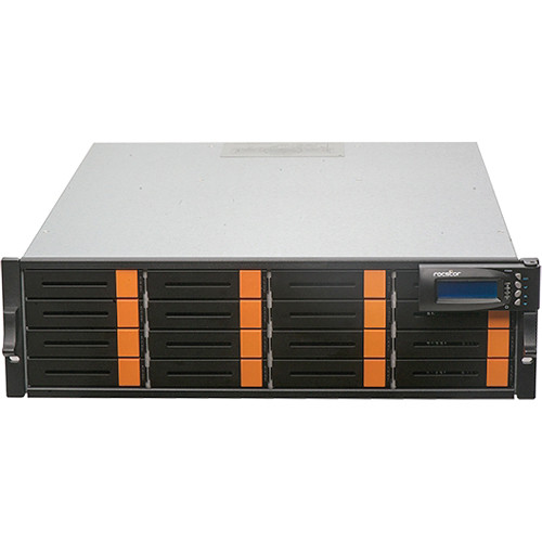 Rocstor 96TB Enteroc F1630 16-Bay Dual Controller 16Gb Fibre SAN Storage System