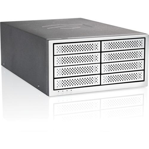 Rocstor 16TB Enteroc PM1300 8-Bay Mobile PCIe 3.0 Storage System