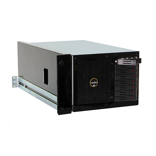 Rocstor Thunderstor XR48 16TB Quad PCIe and 8-Bay Thunderbolt 2 Rackmount RAID Array (8 x 2TB)