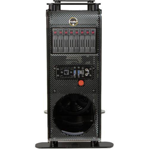 Rocstor Thunderstudio DT23 NAS Server with 30TB Mac Pro Desktop Storage & PCIe Expansion (7200 rpm)