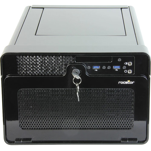 Rocstor Thunderstudio Mini DT28 NAS Enclosure with Mac Mini Desktop Storage & PCIe Expansion
