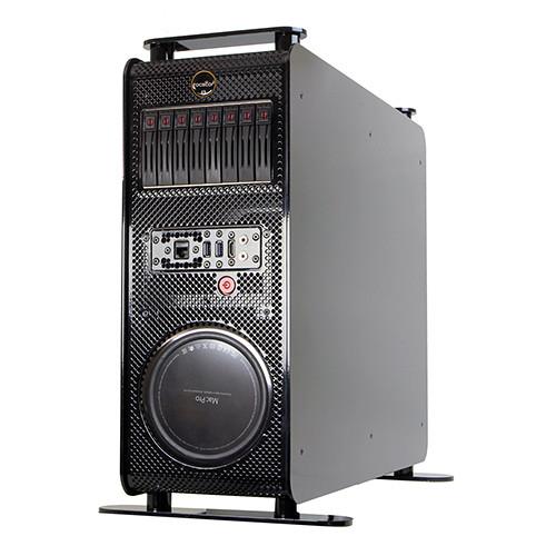 Rocstor Thunderstudio RM28 NAS Server with 8TB Mac Pro Rackmount Storage & PCIe Expansion (7200 rpm)