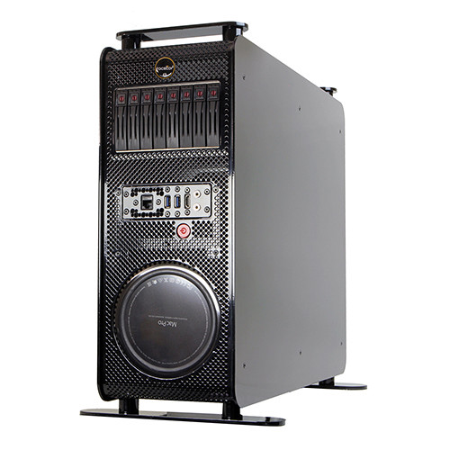 Rocstor Thunderstudio RM NAS Enclosure with Four PCIe Expansion Slots