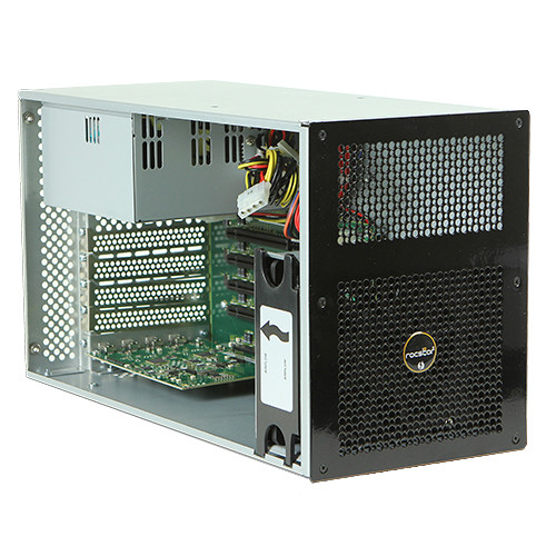 Rocstor Thunderstor XD4 Desktop Thunderbolt 2 to Quad PCIe Expansion Chassis (High-Gloss Black)