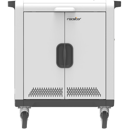 "Rocstor Volt SC32 USB Sync & Charging Cart for 32 Tablets Up to 13"""
