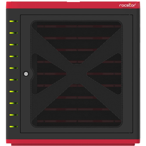 "Rocstor Volt SC10 USB Sync & Charging Station for 10 Tablets Up to 10.1"""