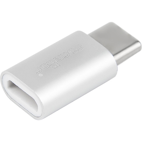 Rocstor USB-C Male to USB Micro-B Female Connector Adapter