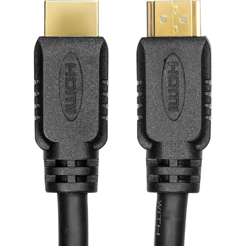 Rocstor High-Speed HDMI 2.0 Male Cable with Ethernet (12')