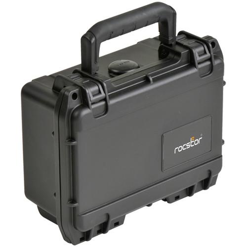 Rocstor DE5 Waterproof Injection Molded Mil-Standard Waterproof Case (Black, Cubed Foam)