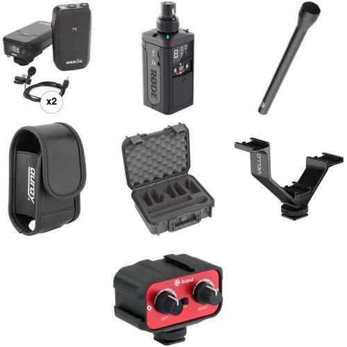Rode RODELink 2-Person Digital Camera-Mount Wireless Combo Microphone System Kit (2.4 GHz)